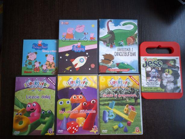 Bajki, filmy dla dzieci na DVD