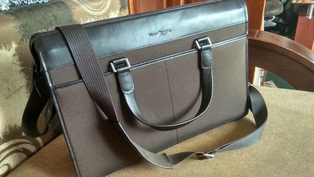 """Фірмова сумка - портфель від італійського бренду """"Blunauta"""""""