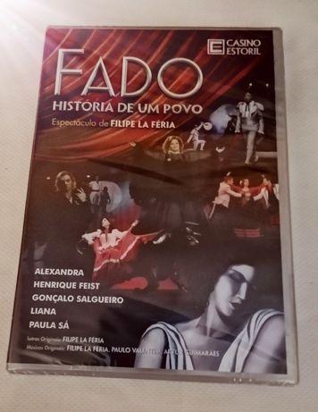 DVD Fado História de um Povo de Filipe Lá Féria