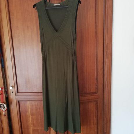 Vestido Lanidor malha verde