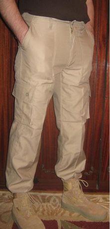 Светлые летние тактические брюки P.G.Wing койот/тан новые р.34 Англия