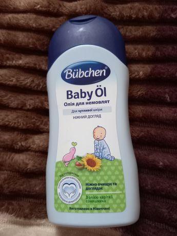 Олійка  для немовлят Bubchen