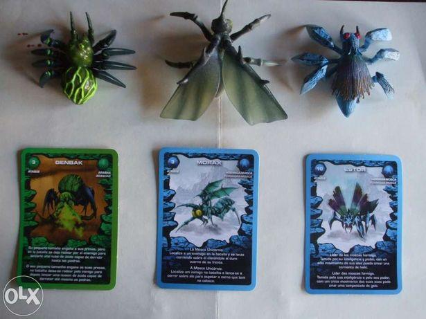 Bonecos PVC a colecção Combat of Giants - MUTANT INSECTS