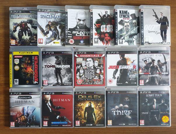 Hitman,Deus Ex,Tomb Raider,Thief,Just Cause,Club,Metal Gear Solid PS3
