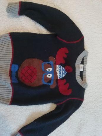 Sweter rozmiar 104