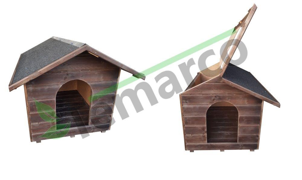 Buda dla psa XL cała OCIEPLONA MALOWANA jakość XXL Mieszkowice - image 1