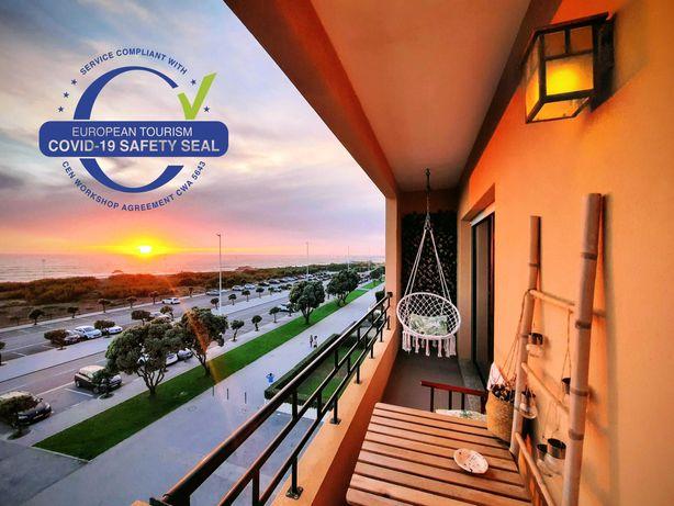 Apartamento T2 Frente ao mar/Vila do Conde/Out/Inv de 2 Até 5 pessoas