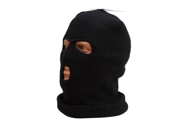 Балаклава вязанная( белая , черная, цветная ) Баф, шапка-маска