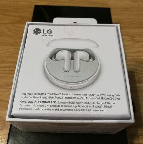 Słuchawki bezprzewodowe LG TONE FREE HBS-FN4