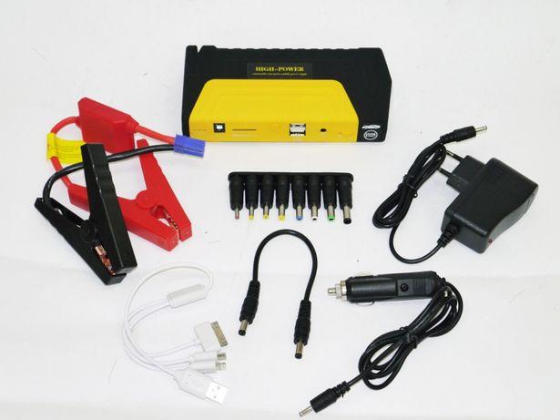 Зарядно пусковий пристрій для машини 2хUSB + Ліхтарик 16800mAh