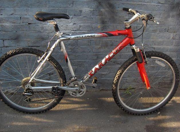 Рама алюминевая велосипедная +руль,седло, алюміній горный