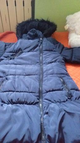 Płaszczyk zimowy rozmiar 116