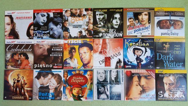 Filmy na płytach DVD dostępnych 86 tytułów