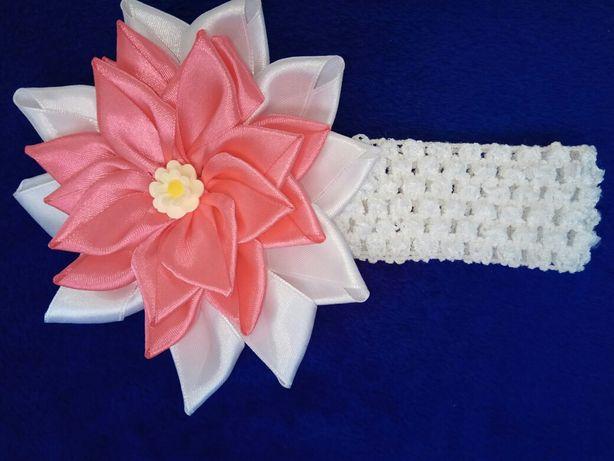 Праздничный аксессуар для костюма весны, цветы из атласной ленты