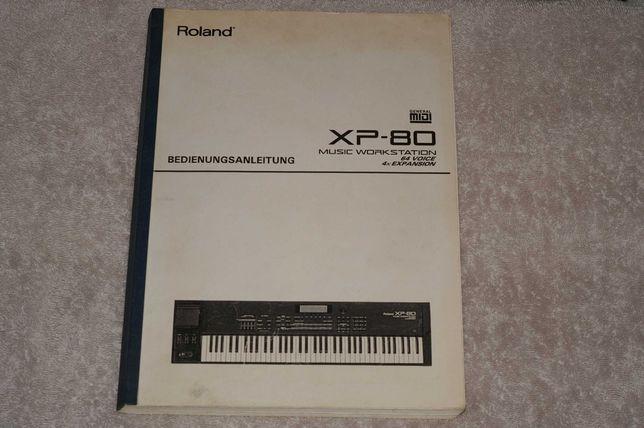 Sprzedam Instrukcję obsługi do Roland XP-80