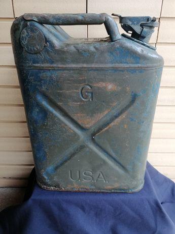 Jerrican militar U. S. A de 1949 das forças especiais S E A