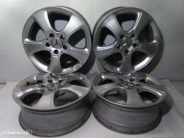 Conjunto De Jantes Alumínio R16 Mercedes-benz A-class A 150