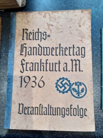 Stara książeczka niemiecka iii rzesza