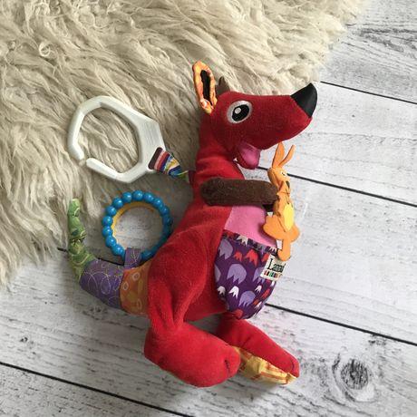 Игрушка Lamaze на кроватку коляску кенгуру развивающая