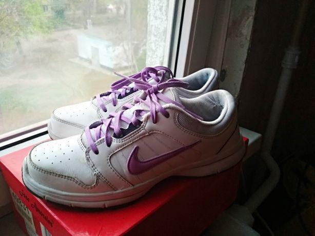 Кроссовки Nike® Оригинал! Натуральная кожа!