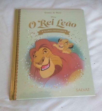 Livro O Rei Leão 4€