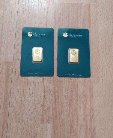 Inwestycja lub Lokata - Gold bar 999.9 - 2 x po 10 g