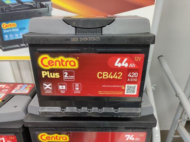 Akumulator Centra Plus CB442 12V 44Ah 420A P+ Kraków Dowóz EB442