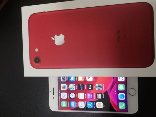 Apple Iphone 7 128 gb red stan IDEALNY faktura zakupu