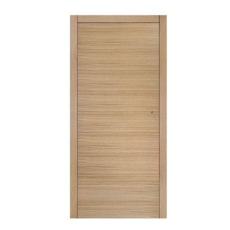 Drzwi Wewnętrzne Drewniane Bezprzylgowe z Ościeżnicą Regulowaną
