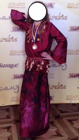 Костюм платье для восточных танцев Марокко