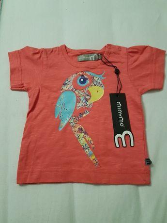 Koszulka t-shirt Minymo nowa 68