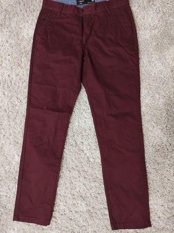 Spodnie bordowe Diverse