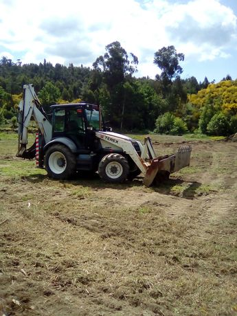 Serviços; trabalhos de retro-escavadora; Escavações; escavadora!