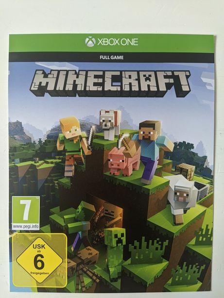 Minecraft Xbox One wersja cyfrowa klucz kod
