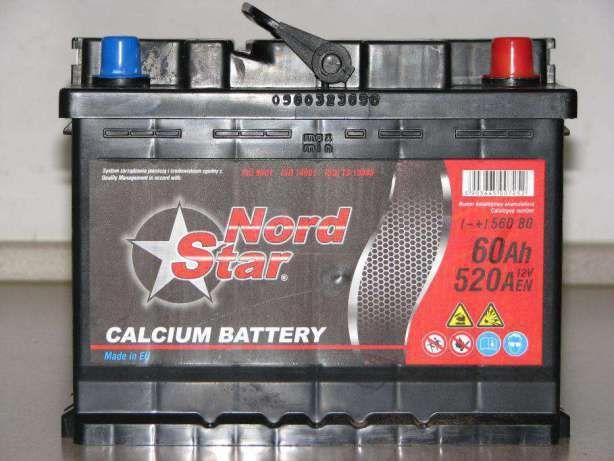 Akumulator NORD STAR (grupa ZAP SZNAJDER) 60Ah 24 m-ce gwarancji!!! Krapkowice - image 1