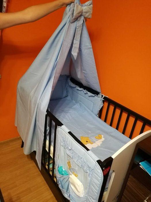 Komplet do łóżeczka dziecięcego 5 częściowy Chocznia - image 1