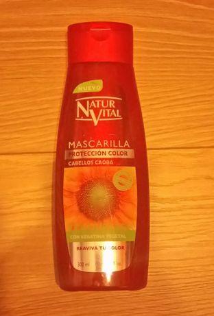 NaturVital maska do włosów rudych i kasztanowych