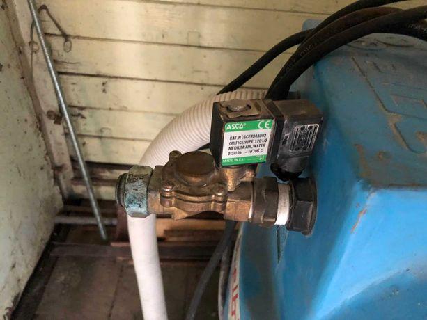 Бочка для воды с обратным клапаном