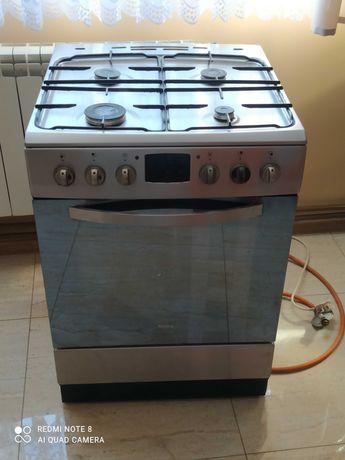 Kuchnia amica gazowo-elektryczna inox