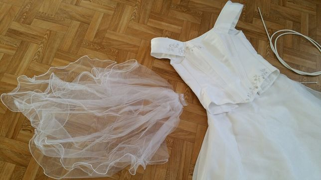 Suknia ślubna na wzrost 162-164