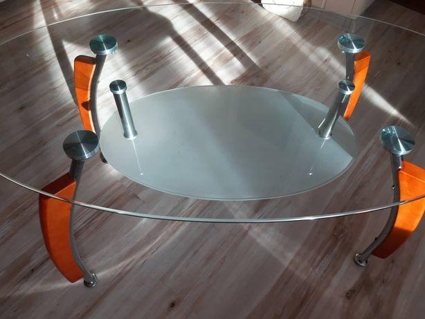 Używana ława szklana stan bdb