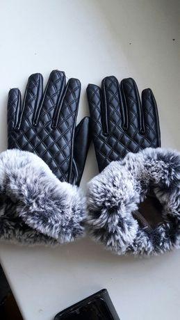 Рукавиці перчатки шкіряні кожаные Італія