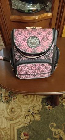 Ортопедический школьный рюкзак для девочек