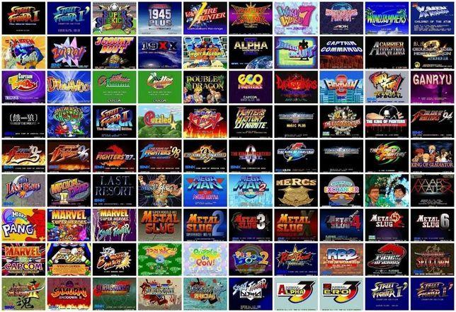 Consola 10000 jogos Retro (Arcade, Nintendo, PS1, Gameboy, Mega Drive)