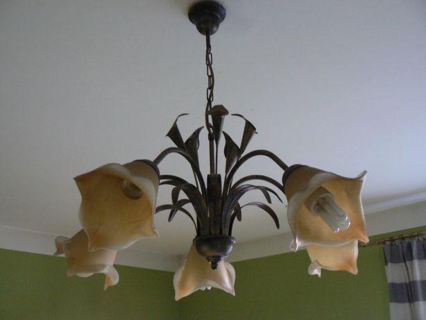 Lampa, żyrandol, kinkiet, komplet