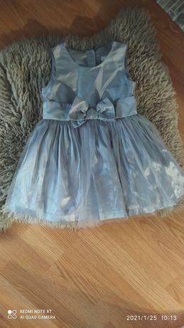 Нарядное платье на 12-18 месяцев