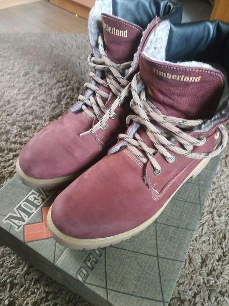 Продам зимние натуральные ботинки Timberland