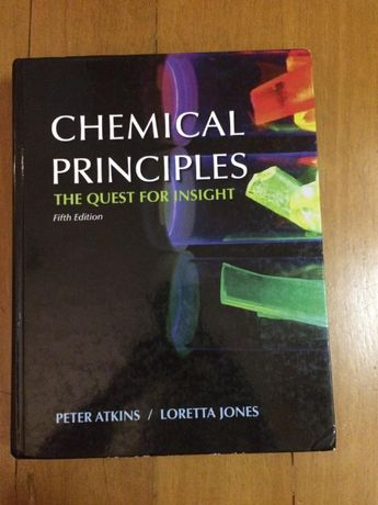 Chemical Principles: The Quest for Insight 5th edition