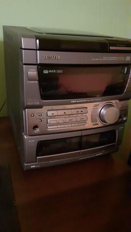 AIWA NSX S70 - uszkodzone CD, KASETY