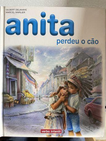 Anita - perdeu o cão